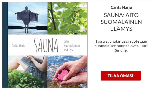 Carita Harju: Sauna - aito suomalainen elämys