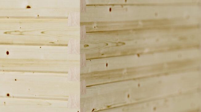 hetki sauna hirsirakenne