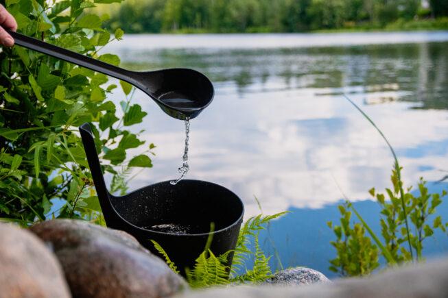 kiulu järvellä